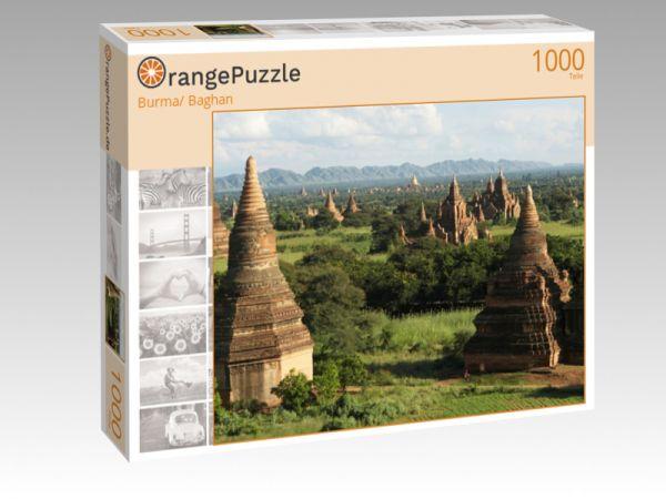 """Puzzle Motiv """"Burma/ Baghan"""" - Puzzle-Schachtel zu 1000 Teile Puzzle"""