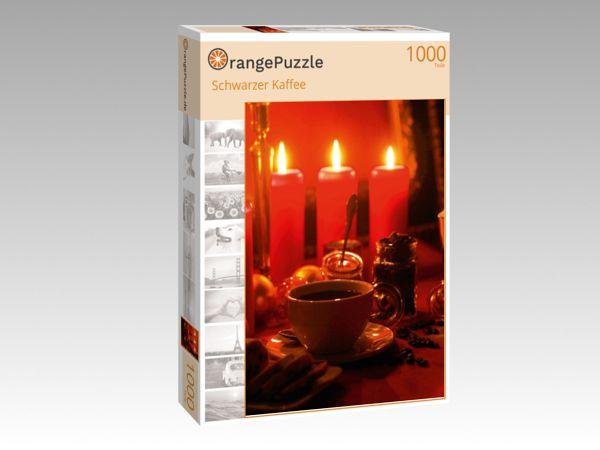 """Puzzle Motiv """"Schwarzer Kaffee"""" - Puzzle-Schachtel zu 1000 Teile Puzzle"""