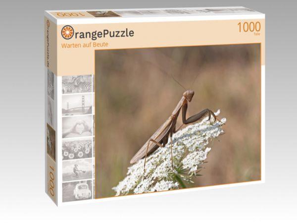 """Puzzle Motiv """"Warten auf Beute"""" - Puzzle-Schachtel zu 1000 Teile Puzzle"""