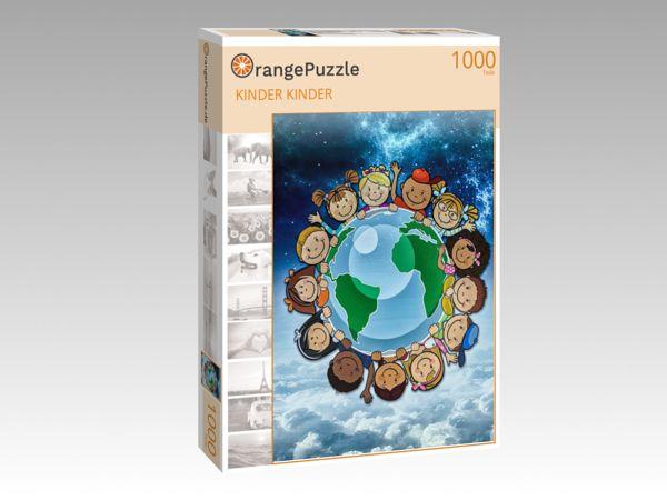 """Puzzle Motiv """"KINDER KINDER"""" - Puzzle-Schachtel zu 1000 Teile Puzzle"""