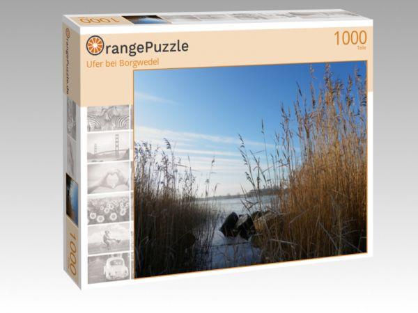 """Puzzle Motiv """"Ufer bei Borgwedel"""" - Puzzle-Schachtel zu 1000 Teile Puzzle"""