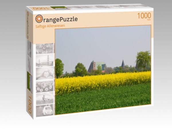 """Puzzle Motiv """"Saftige Allerwiesen"""" - Puzzle-Schachtel zu 1000 Teile Puzzle"""