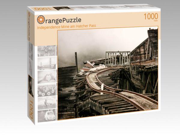 "Puzzle Motiv ""Independence Mine am Hatcher Pass"" - Puzzle-Schachtel zu 1000 Teile Puzzle"