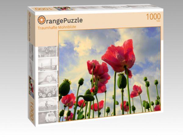 """Puzzle Motiv """"Traumhafte Mohnblüte"""" - Puzzle-Schachtel zu 1000 Teile Puzzle"""