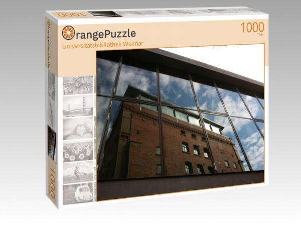 """Puzzle Motiv """"Universitätsbibliothek Weimar"""" - Puzzle-Schachtel zu 1000 Teile Puzzle"""