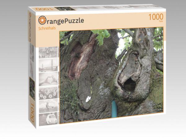 """Puzzle Motiv """"Schreihals"""" - Puzzle-Schachtel zu 1000 Teile Puzzle"""