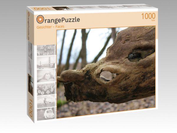 """Puzzle Motiv """"Gesichter –Faces"""" - Puzzle-Schachtel zu 1000 Teile Puzzle"""
