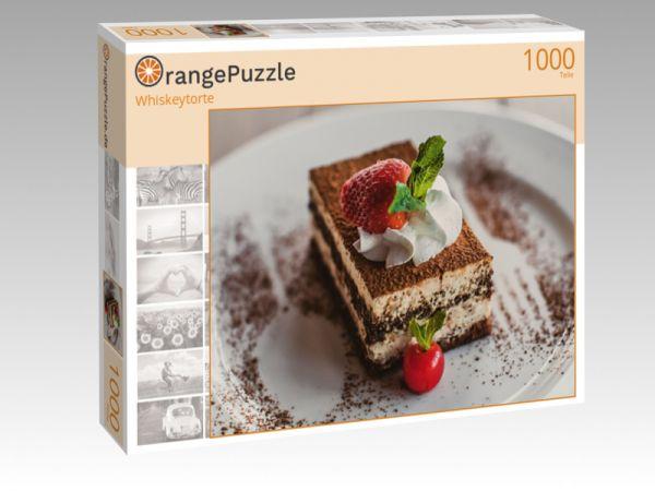 """Puzzle Motiv """"Whiskeytorte"""" - Puzzle-Schachtel zu 1000 Teile Puzzle"""