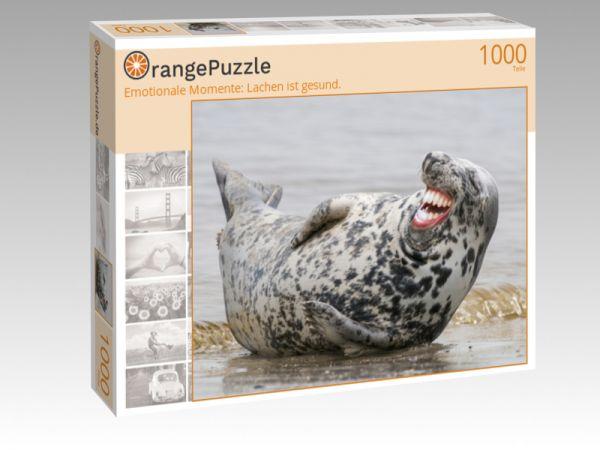 "Puzzle Motiv ""Emotionale Momente: Lachen ist gesund."" - Puzzle-Schachtel zu 1000 Teile Puzzle"