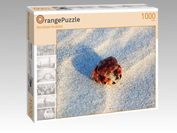 """Puzzle Motiv """"Nordsee-Krabbe"""" - Puzzle-Schachtel zu 1000 Teile Puzzle"""