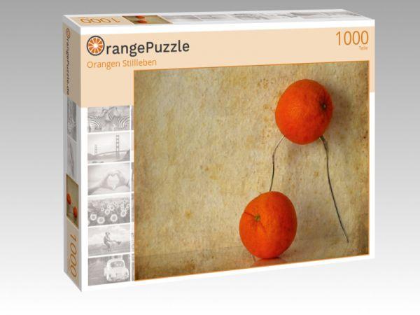 """Puzzle Motiv """"Orangen Stillleben"""" - Puzzle-Schachtel zu 1000 Teile Puzzle"""