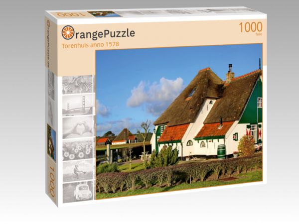 "Puzzle Motiv ""Torenhuis anno 1578"" - Puzzle-Schachtel zu 1000 Teile Puzzle"