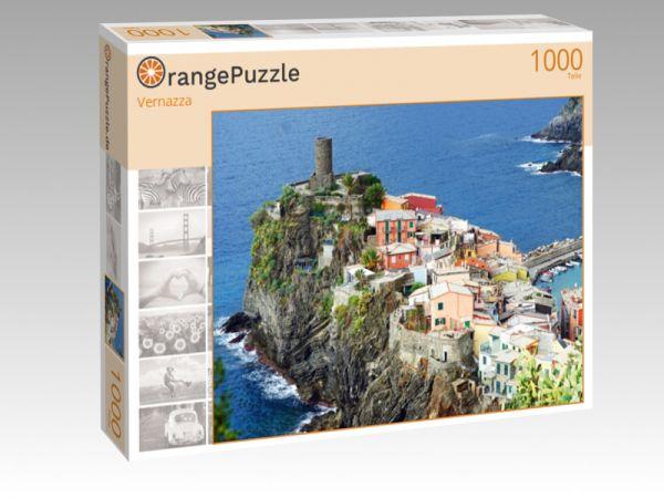 """Puzzle Motiv """"Vernazza"""" - Puzzle-Schachtel zu 1000 Teile Puzzle"""