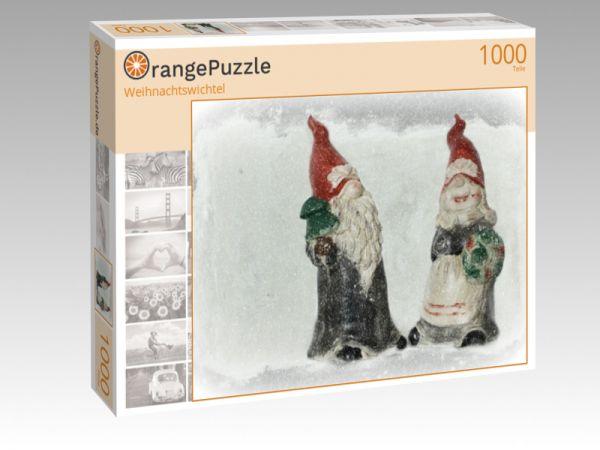 """Puzzle Motiv """"Weihnachtswichtel"""" - Puzzle-Schachtel zu 1000 Teile Puzzle"""