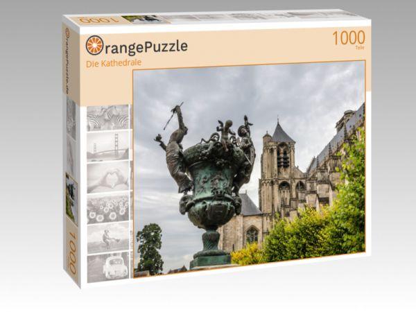 """Puzzle Motiv """"Die Kathedrale"""" - Puzzle-Schachtel zu 1000 Teile Puzzle"""