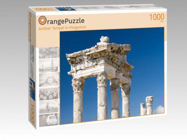 "Puzzle Motiv ""Antiker Tempel in Pergamon"" - Puzzle-Schachtel zu 1000 Teile Puzzle"