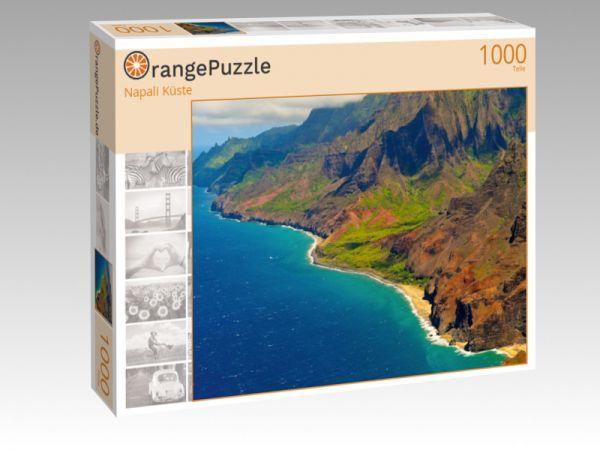 """Puzzle Motiv """"Napali Küste"""" - Puzzle-Schachtel zu 1000 Teile Puzzle"""