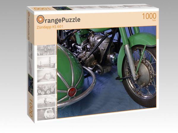 """Puzzle Motiv """"Zündapp KS 601"""" - Puzzle-Schachtel zu 1000 Teile Puzzle"""