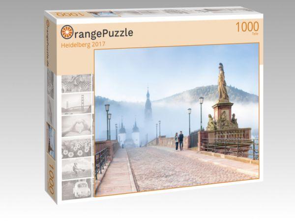 """Puzzle Motiv """"Heidelberg 2017"""" - Puzzle-Schachtel zu 1000 Teile Puzzle"""