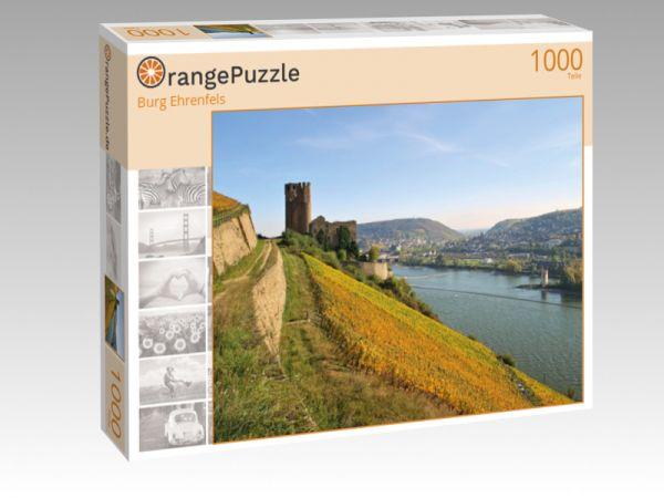 """Puzzle Motiv """"Burg Ehrenfels"""" - Puzzle-Schachtel zu 1000 Teile Puzzle"""