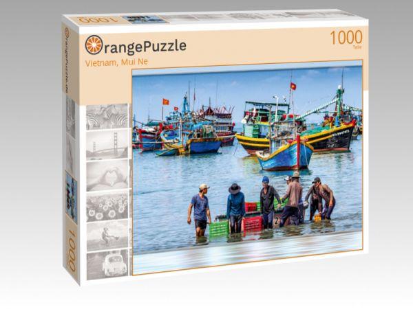 """Puzzle Motiv """"Vietnam, Mui Ne"""" - Puzzle-Schachtel zu 1000 Teile Puzzle"""