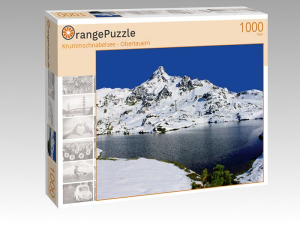 """Puzzle Motiv """"Krummschnabelsee - Obertauern"""" - Puzzle-Schachtel zu 1000 Teile Puzzle"""