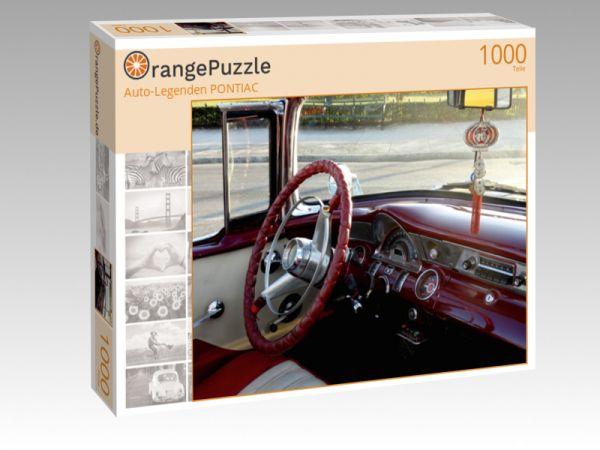 """Puzzle Motiv """"""""Auto-Legenden PONTIAC"""""""" - Puzzle-Schachtel zu 1000 Teile Puzzle"""