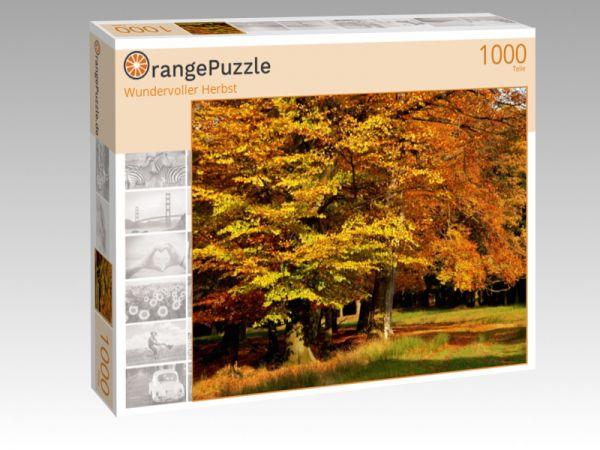"Puzzle Motiv ""Wundervoller Herbst"" - Puzzle-Schachtel zu 1000 Teile Puzzle"