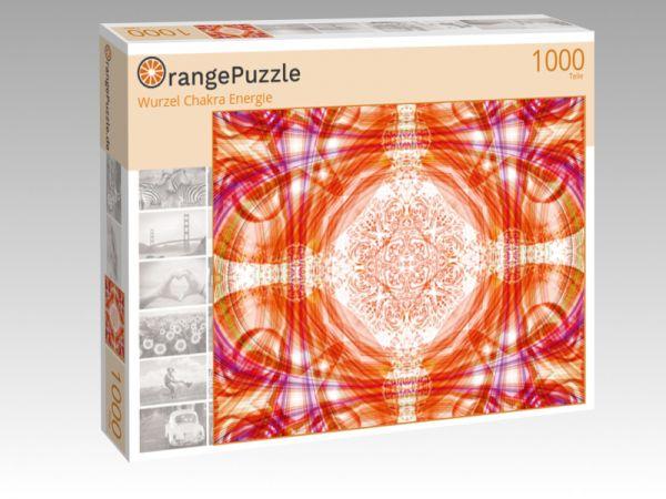 """Puzzle Motiv """"Wurzel Chakra Energie"""" - Puzzle-Schachtel zu 1000 Teile Puzzle"""