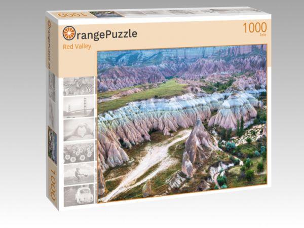 "Puzzle Motiv ""Red Valley"" - Puzzle-Schachtel zu 1000 Teile Puzzle"