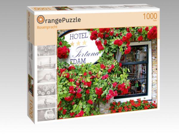 """Puzzle Motiv """"Rosenpracht"""" - Puzzle-Schachtel zu 1000 Teile Puzzle"""