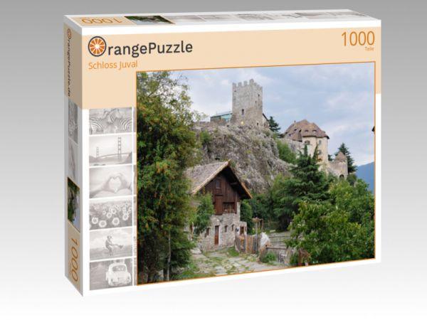 """Puzzle Motiv """"Schloss Juval"""" - Puzzle-Schachtel zu 1000 Teile Puzzle"""