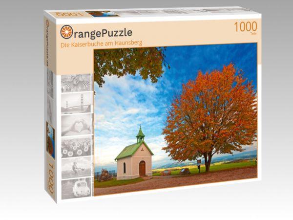 """Puzzle Motiv """"Die Kaiserbuche am Haunsberg"""" - Puzzle-Schachtel zu 1000 Teile Puzzle"""