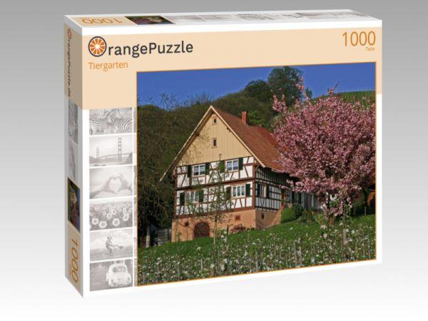 "Puzzle Motiv ""Tiergarten"" - Puzzle-Schachtel zu 1000 Teile Puzzle"