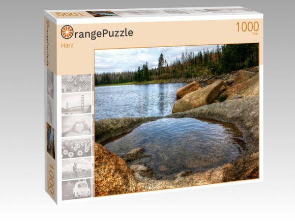 """Puzzle Motiv """"Harz"""" - Puzzle-Schachtel zu 1000 Teile Puzzle"""