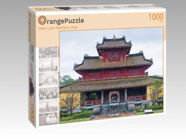 """Puzzle Motiv """"Hien Lam Pavillon, Hue"""" - Puzzle-Schachtel zu 1000 Teile Puzzle"""