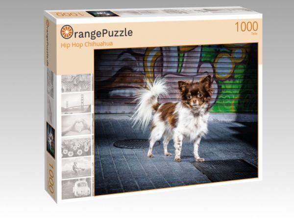 """Puzzle Motiv """"Hip Hop Chihuahua"""" - Puzzle-Schachtel zu 1000 Teile Puzzle"""