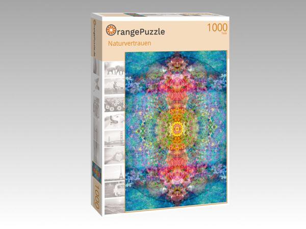 """Puzzle Motiv """"Naturvertrauen"""" - Puzzle-Schachtel zu 1000 Teile Puzzle"""