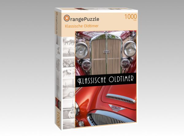 """Puzzle Motiv """"Klassische Oldtimer"""" - Puzzle-Schachtel zu 1000 Teile Puzzle"""