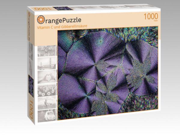 """Puzzle Motiv """"Vitamin C und Gibberellinsäure"""" - Puzzle-Schachtel zu 1000 Teile Puzzle"""