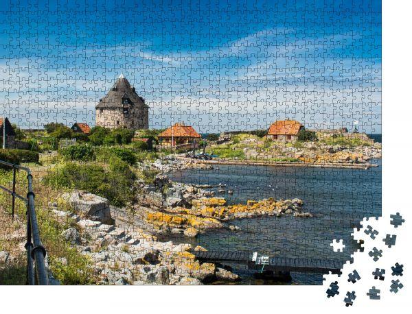 """Puzzle-Motiv """"Christianso - eine malerische dänische Insel vor Bornholm an der Ostsee"""" - Puzzle-Schachtel zu 1000 Teile Puzzle"""