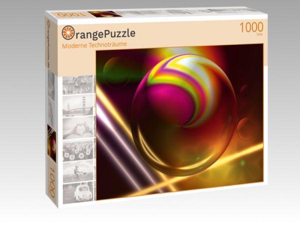 """Puzzle Motiv """"Moderne Technoträume"""" - Puzzle-Schachtel zu 1000 Teile Puzzle"""