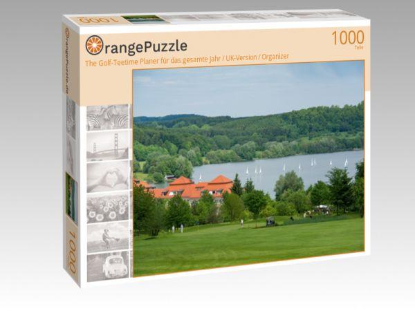 """Puzzle Motiv """"The Golf-Teetime Planer für das gesamte Jahr / UK-Version / Organizer"""" - Puzzle-Schachtel zu 1000 Teile Puzzle"""