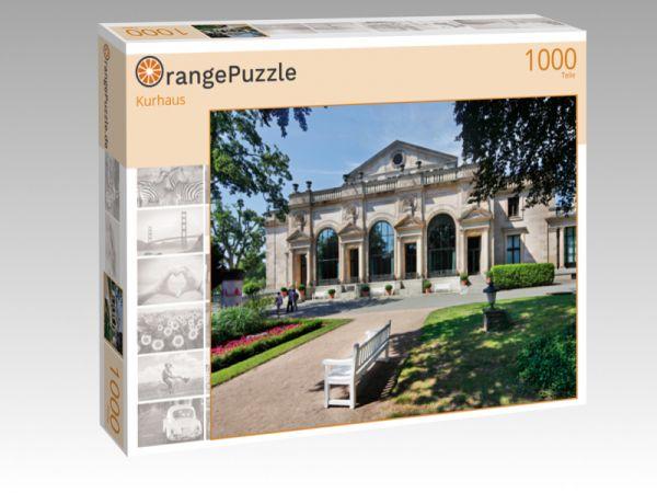 """Puzzle Motiv """"Kurhaus"""" - Puzzle-Schachtel zu 1000 Teile Puzzle"""