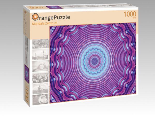"""Puzzle Motiv """"Mandala Zentrum"""" - Puzzle-Schachtel zu 1000 Teile Puzzle"""
