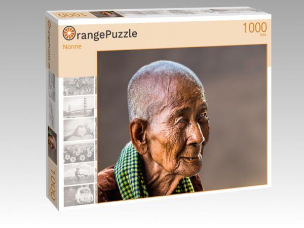 """Puzzle Motiv """"Nonne"""" - Puzzle-Schachtel zu 1000 Teile Puzzle"""