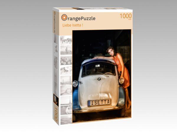 """Puzzle Motiv """"Liebe Isetta !"""" - Puzzle-Schachtel zu 1000 Teile Puzzle"""
