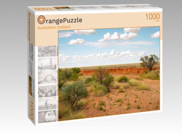 """Puzzle Motiv """"Australiens Outback"""" - Puzzle-Schachtel zu 1000 Teile Puzzle"""