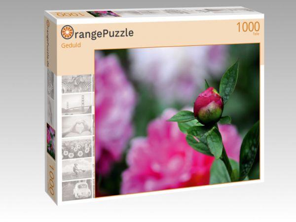 """Puzzle Motiv """"Geduld"""" - Puzzle-Schachtel zu 1000 Teile Puzzle"""