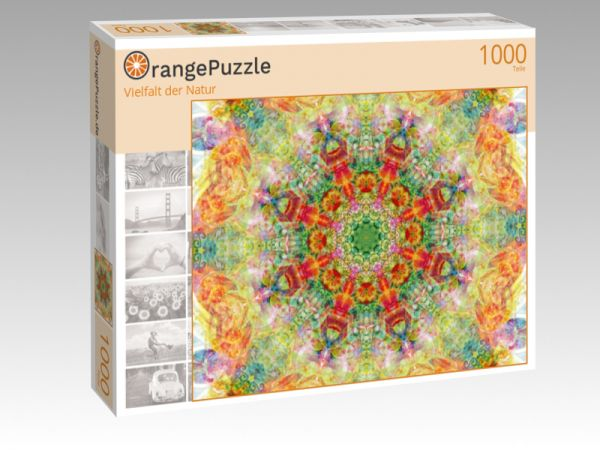 "Puzzle Motiv ""Vielfalt der Natur"" - Puzzle-Schachtel zu 1000 Teile Puzzle"